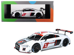 "Audi Sport R8 LMS #1 ""Presentation Car"" 1/18 Diecast Model Car by Paragon"