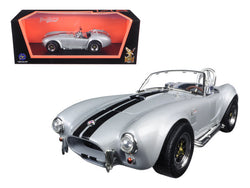 1964 Shelby Cobra 427 S/C Gray 1/18 Diecast Model Car by Road Signature