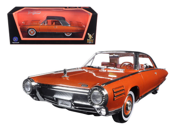 1963 Chrysler Turbine Bronze 1/18 Diecast Model Car by Road Signature