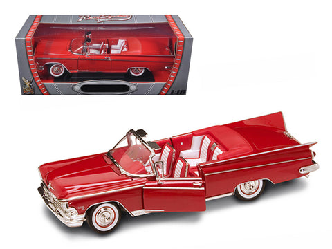 1959 Buick Electra 225 Convertible Red 1/18 Diecast Model Car by Road Signature