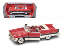 1955 Packard Caribbean Red 1/18 Diecast Model Car by Road Signature