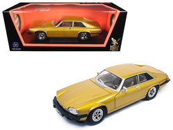 1975 Jaguar XJS Coupe Gold 1/18 Diecast Model Car by Road Signature