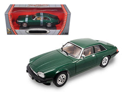 1975 Jaguar XJS Coupe Green 1/18 Diecast Model Car by Road Signature