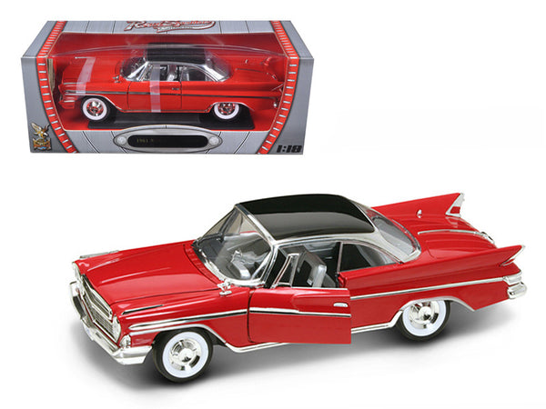 1961 Desoto Adventurer Red 1/18 Diecast Model Car by Road Signature
