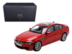 2012 BMW M5 (F10M) Sakhir Orange 1/18 Diecast Model Car by Paragon