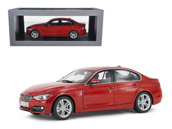 BMW F30 3 Series Melbourne Red 1/18 Diecast Model Car by Paragon