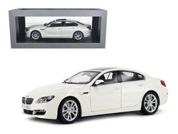 BMW 650i Gran Coupe 6 Series F06 Alpine White 1/18 Diecast Model Car by Paragon