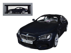 BMW M6 F13M Coupe Imperial Blue 1/18 Diecast Model Car by Paragon