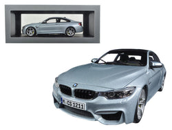 BMW M4 Coupe Silver 1/18 Diecast Model Car by Paragon
