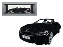 BMW M4 Cabrio Black 1/18 Diecast Model Car by Paragon