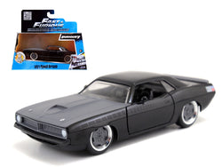 "Letty's Plymouth Barracuda ""Fast & Furious 7"" Movie 1/32 Diecast Model Car by Jada"