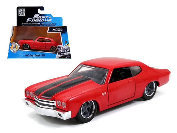 "Dom's Chevrolet Chevelle SS Red ""Fast & Furious"" Movie 1/32 Diecast Model Car by Jada"
