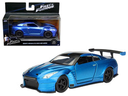 "Brian's 2009 Nissan GTR R35 Blue Ben Sopra ""Fast & Furious"" Movie 1/32 Diecast Model Car  by Jada"