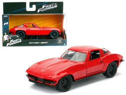"Letty's Chevrolet Corvette ""Fast & Furious F8"" ""The Fate of the Furious"" Movie 1/32 Diecast Model Car  by Jada"
