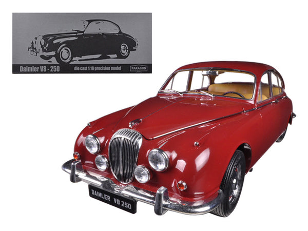 1967 Daimler V8-250 Regency Maroon Limited to 3000pcs 1/18 Diecast Model Car by Paragon
