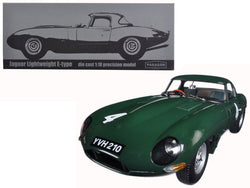 Jaguar Lightweight E-Type Sutcliffe YVH210 #4 Green 1/18 Diecast Model Car by Paragon