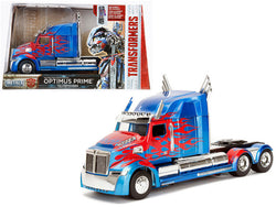"Western Star 5700 XE Phantom Optimus Prime ""Transformers"" Movie 1/24 Diecast Model by Jada Metals"