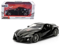 Toyota FT-1 Concept Black JDM Tuners 1/24 Diecast Model Car by Jada