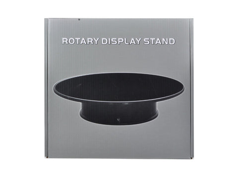 "Rotary Display Stand 10"" for 1/18 Diecast Models With Flocked/Felt Top"