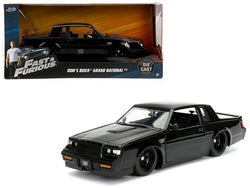 "Dom's Buick Grand National Black ""Fast & Furious"" Movie 1/24 Diecast Model Car by Jada"