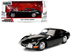 "1967 Toyota 2000GT Coupe Black ""JDM Tuners"" 1/24 Diecast Model Car by Jada"