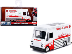 "Deadpool Taco Truck White ""Marvel"" Series 1/32 Diecast Model by Jada"
