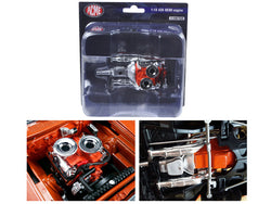 Hemi Bullet Hemi 426 Engine with Headers and Transmission Replica 1/18 Diecast by Acme