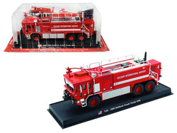"1989 Oshkosh Crash Fire Engine ""Calgary International Airport"" (Calgary. Alberta, Canada) 1/64 Diecast Model by Amercom"