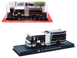 2006 American LaFrance (ALF) Eagle Pumper Fire Engine (San Francisco, California) 1/64 Diecast Model by Amercom