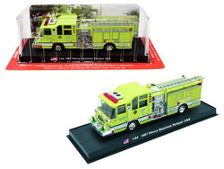1997 Pierce Quantum Pumper Fire Rescue Engine (Palm Beach Gardens, California) 1/64 Diecast Model by Amercom