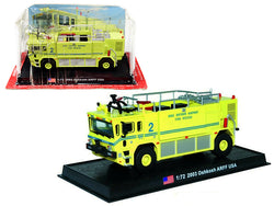 "2003 Oshkosh ARFF Fire Rescue Engine ""Long Island Mac Arthur Airport"" (Ronkonkoma, New York) 1/72 Diecast Model by Amercom"