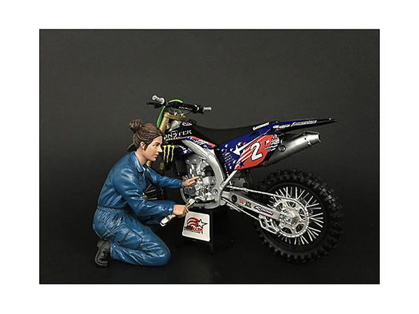 Mechanic Chole Figure for 1/12 Scale Motorcycle Models by American Diorama