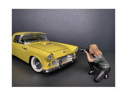 Weekend Car Show Figure III for 1/24 Scale Models by American Diorama