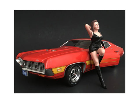 1970's Style Figure #1 For 1:18 Scale Diecast Models by American Diorama
