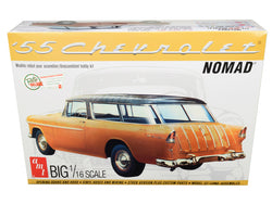 1955 Chevrolet Nomad Wagon 2 in 1 Plastic Model Kit (Skill Level 3) 1/16 Scale Model by AMT
