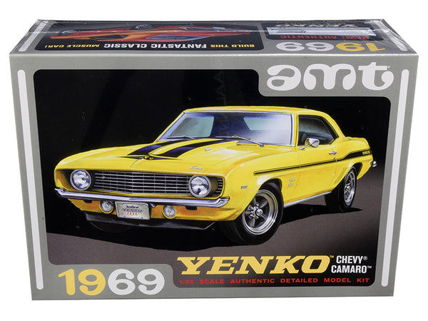 1969 Chevrolet Camaro Yenko Plastic Model Kit (Skill Level 2) 1/25 Scale Model by AMT