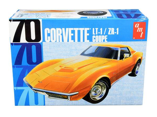 1970 Chevrolet Corvette LT-1/ZR-1 Coupe Plastic Model Kit (Skill Level 2) 1/25 Scale Model by AMT
