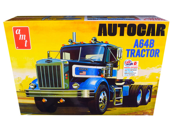 Autocar A64B Tractor Plastic Model Kit (Skill Level 3) 1/25 Scale Model by AMT