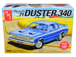 1971 Plymouth Duster 340 Plastic Model Kit (Skill Level 2) 1/25 Scale Model by AMT