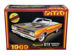 1969 Plymouth GTX Convertible Plastic Model Kit (Skill Level 2) 1/25 Scale Model by AMT