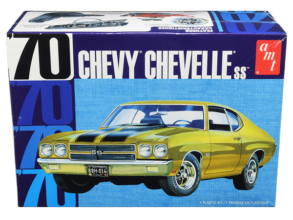 1970 Chevrolet Chevelle SS Plastic Model Kit (Skill Level 2) 1/25 Scale Model by AMT