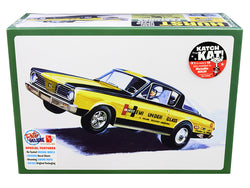 "1966 Plymouth Barracuda Funny Car ""Hemi Under Glass"" Plastic Model Kit (Skill Level 2) 1/25 Scale Model by AMT"
