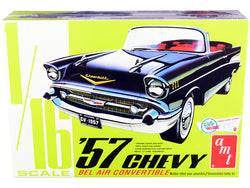 1957 Chevrolet Bel Air Convertible 2-in-1 Plastic Model Kit (Skill Level 3) 1/16 Scale Model by AMT