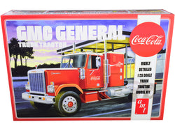 "GMC General Truck Tractor ""Coca-Cola"" Plastic Model Kit (Skill Level 3) 1/25 Scale Model by AMT"