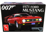 "1971 Ford Mustang Mach 1 (James Bond 007) ""Diamonds are Forever"" (1971) Movie Plastic Model Kit (Skill Level 2) 1/25 Scale Model by AMT"