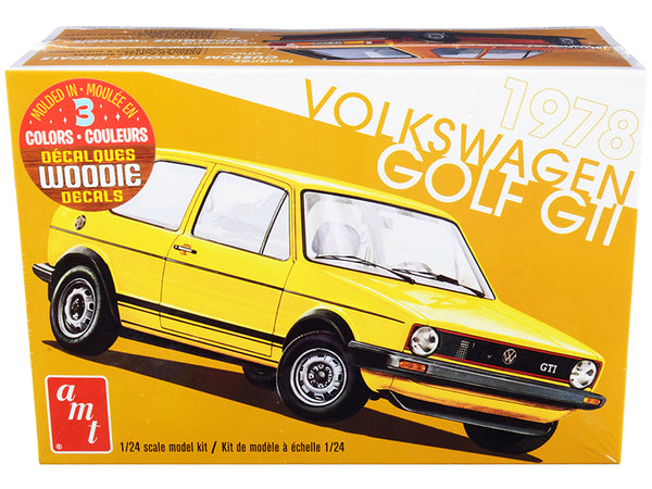 1978 Volkswagen Golf GTI Plastic Model Kit (Skill Level 2) 1/24 Scale Model by AMT
