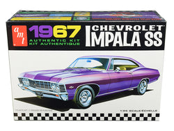 1967 Chevrolet Impala SS Plastic Model Kit (Skill Level 2) 1/25 Scale Model by AMT