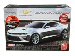 2016 Chevrolet Camaro SS Plastic Snap Model Kit (Skill Level 1) 1/25 Scale Model by AMT