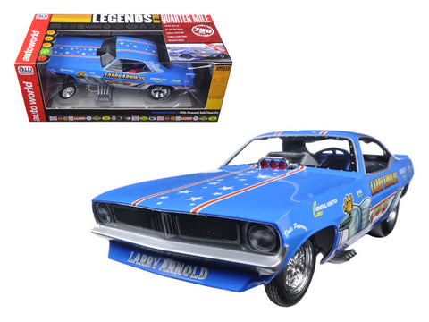 "Larry Arnold's ""King Fish"" 1970's Plymouth Cuda Funny Car Limited Edition to 750pcs 1/18 Model Car by Autoworld"