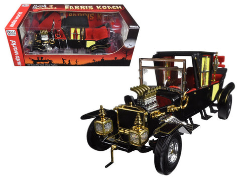 "George Barris's ""Munsters Koach"" 1/18 Diecast Model Car by Autoworld"